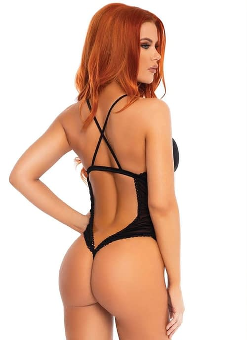 Bodysuit en transparencias